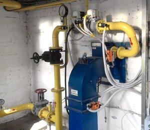 Ввод в эксплуатацию автоматической горелки МДГГ с выносным вентилятором на зерносушилке ДСП 32